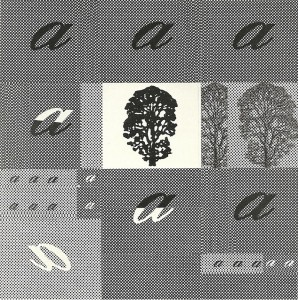 Mutazione scrittura, 1978 - collage su tela cm.80x80